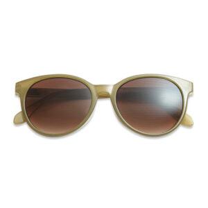 Solbriller med styrke mosgrøn