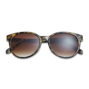 Solbriller med styrke og meleret stel