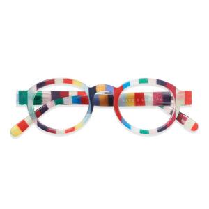 Farverige læsebriller