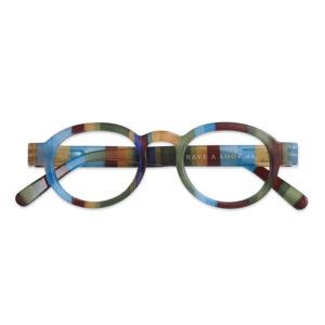 Læsebrille Circle ocean