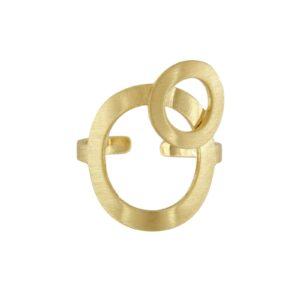 Dot guld ring