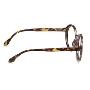 Diva tortoise læsebriller fra siden